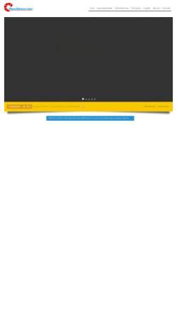 Vorschau der mobilen Webseite www.rein-spedition.de, Rein Spedition und Industrielogistik GmbH