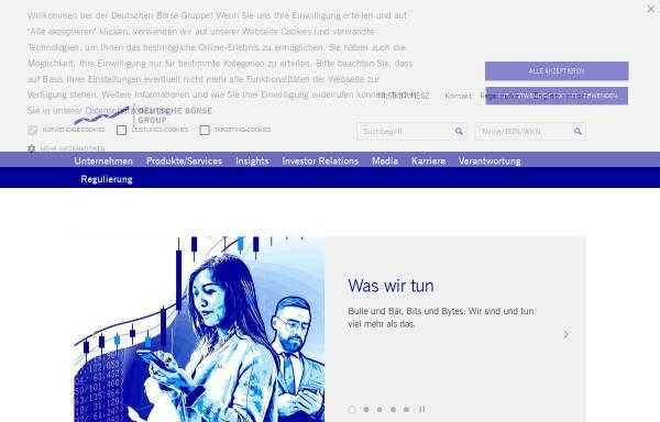 Vorschau von www.boerse-frankfurt.com, Börse Frankfurt