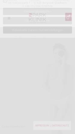 Vorschau der mobilen Webseite www.peiffer-spedition.de, Spedition Adolf Peiffer GmbH
