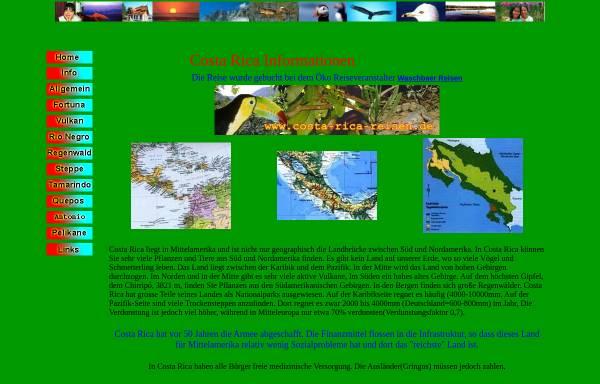 Vorschau von www.kmon.de, Costa Rica Informationen [Karl Mock]