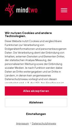 Vorschau der mobilen Webseite www.creativegroup.de, CreativeGroup Jonas Emde