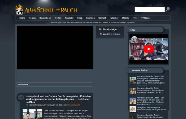 Vorschau von alles-schallundrauch.blogspot.com, Schall und Rauch