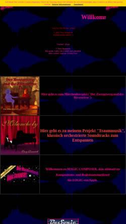 Vorschau der mobilen Webseite www.magiccomposer.de, Magic Composer