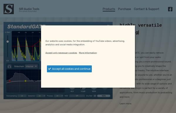 Vorschau von www.knufinke.de, SIR - Super Impuls Reverb