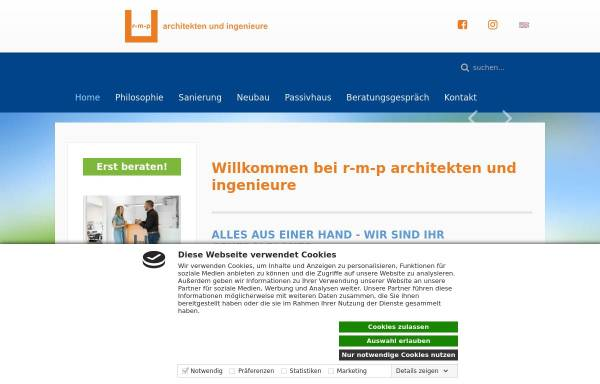 Vorschau von www.r-m-p.de, Matzig, Roland & Partner