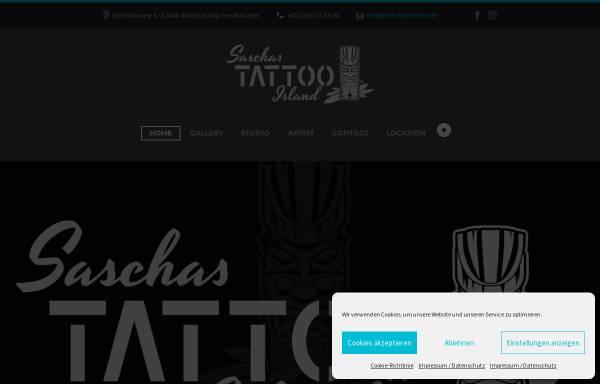 Vorschau von www.saschastattoo.de, Sascha's Tattoo, Sascha Schneider