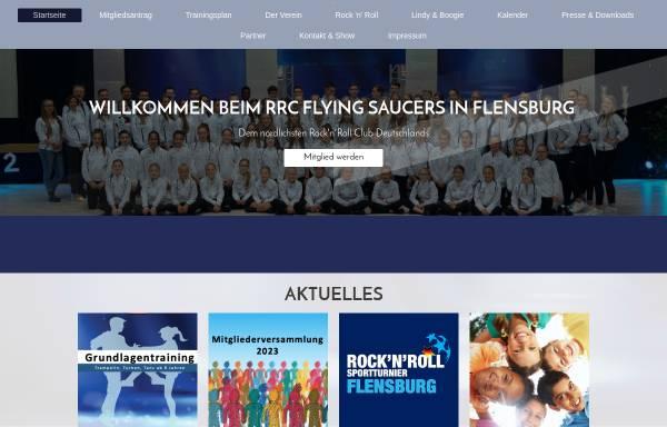 Vorschau von www.flyingsaucers.de, RRC Flying Saucers Flensburg