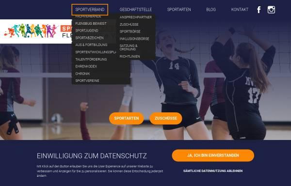 Vorschau von www.svfl.de, Sportverband Flensburg e. V.
