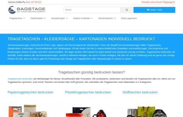Vorschau von www.bagstage.de, Bagstage GmbH