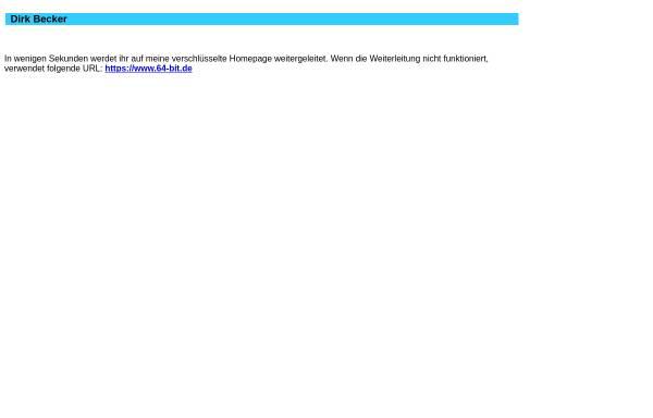 Vorschau von www.64-bit.de, Linux Dokumentationen