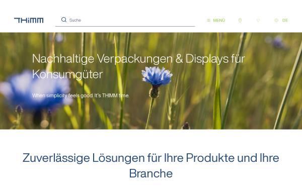 Vorschau von www.thimm.de, Thimm Verpackung GmbH + Co. KG