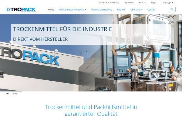 Vorschau von www.tropack.de, Tropack Packmittel GmbH