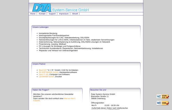 Vorschau von www.datasys-obg.de, Data System-Service GmbH