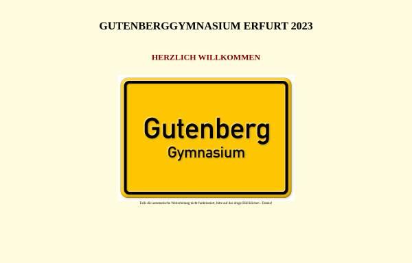 Vorschau von www.gutenberggymnasium.de, Gutenberg-Gymnasium