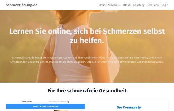 Vorschau von www.schmerzloesung.de, Schmerzlösung UG