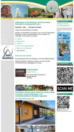 Vorschau der mobilen Webseite www.bfs-eichsfeld.de, Bildungs- und Ferienstätte Eichsfeld