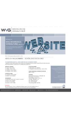 Vorschau der mobilen Webseite www.wvg-wohnungsverwaltung.de, WVG Wohnungsverwaltung KG