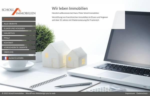 Vorschau von www.scholl-immobilien.de, Scholl Immobilien