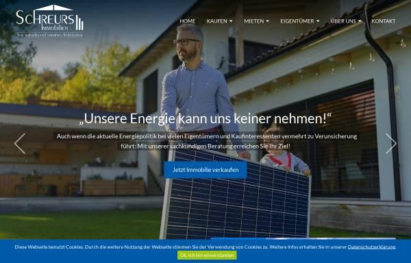 Vorschau von www.schreurs-immobilien.de, Schreurs Immobilien