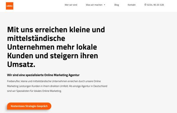 Vorschau von www.adbites.de, Adbites Online Marketing