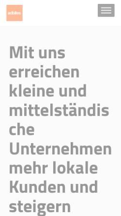 Vorschau der mobilen Webseite www.adbites.de, Adbites Online Marketing