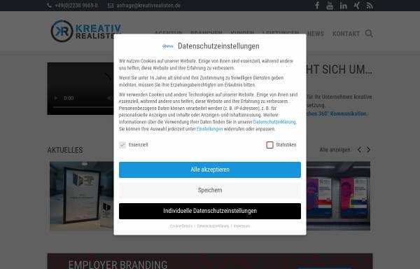 Vorschau von www.kreativrealisten.de, EMS & P Kommunikation GmbH