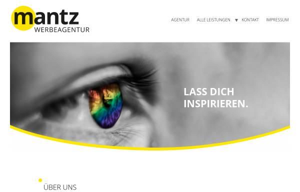 Vorschau von www.mantz-werbeagentur.de, Mantz Werbeagentur