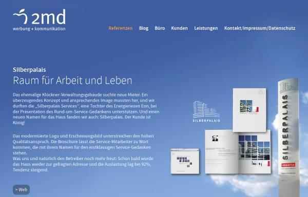 Vorschau von www.2md.de, 2md