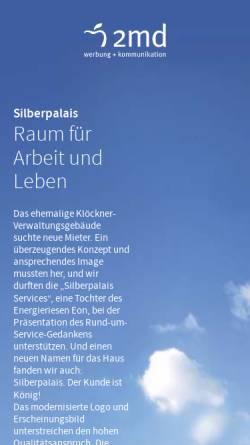 Vorschau der mobilen Webseite www.2md.de, 2md