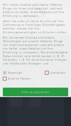 Vorschau der mobilen Webseite www.system-werbung.de, System-Werbung Blavius GmbH
