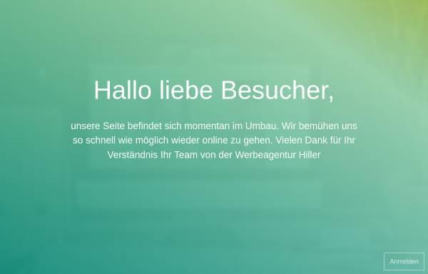 Vorschau von www.werbeagentur-hiller.de, Werbeagentur Hiller