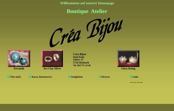 Vorschau von www.creabijou.ch, Boutique Atelier Créa Bijou