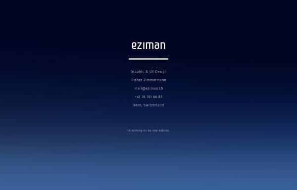 Vorschau von www.eziman.ch, Esther Zimmermann