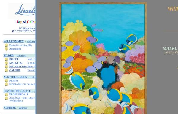 Vorschau von www.lisarte.ch, Lisarte