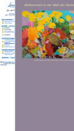 Vorschau der mobilen Webseite www.lisarte.ch, Lisarte