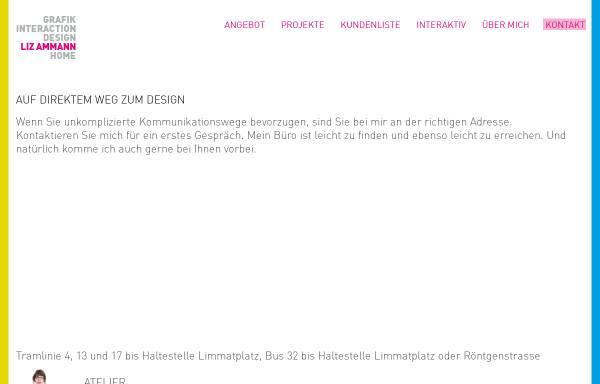 Vorschau von www.lizammann.ch, Liz Ammann