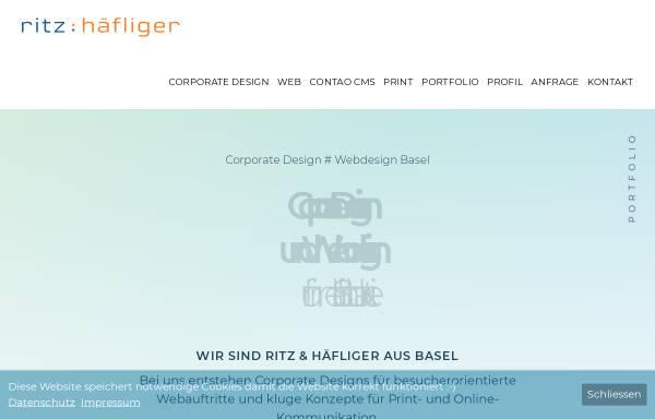 Vorschau von www.ritz-haefliger.ch, Ritz : Häfliger