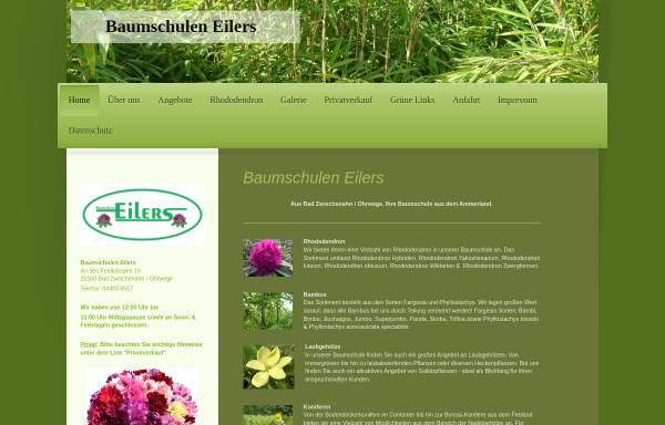Vorschau von www.eilers-baumschulen.de, Baumschulen Eilers GbR