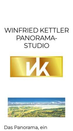 Vorschau der mobilen Webseite www.kettler-panorama.ch, Winfried Kettler Panorama-Studio