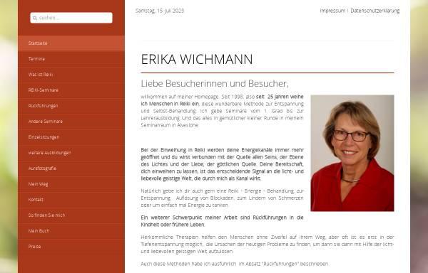 Vorschau von www.erika-wichmann.de, Wichmann, Erika