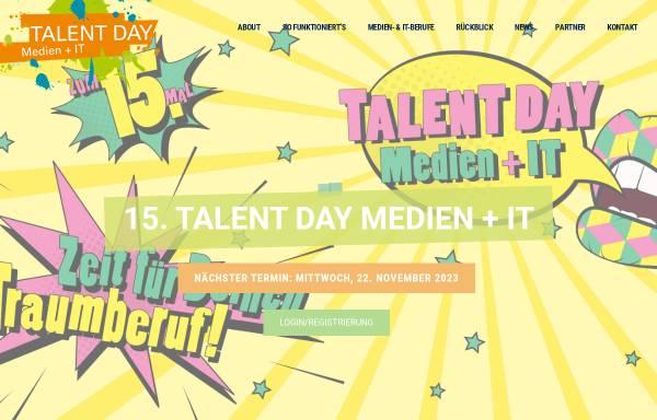 Vorschau von www.talentday.de, Service Digitale Arbeit
