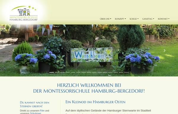 Vorschau von www.montessorischule-hamburg.de, Montessori-Schule Hamburg-Bergedorf