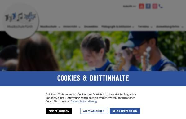 Vorschau von www.musikschule-fuerth.de, Sing- und Musikschule Fürth e.V.