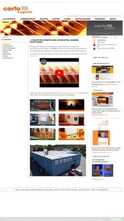 Vorschau der mobilen Webseite www.carlo.at, Carlo-Loysch KG