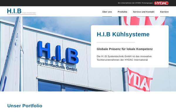 Vorschau von www.h-i-b.de, H.I.B Industriekühlung, Inh. Artur Kraus