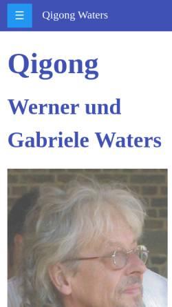 Vorschau der mobilen Webseite qigong-waters.de, QIGONG