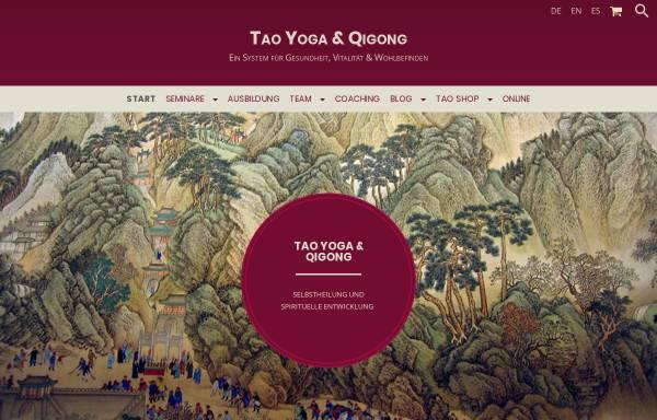 Vorschau von tao-yoga.com, Tao Yoga & Qi Gong,