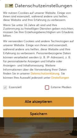Vorschau der mobilen Webseite www.tao-hamburg.com, Tao-Hamburg, Carsten Dohnke