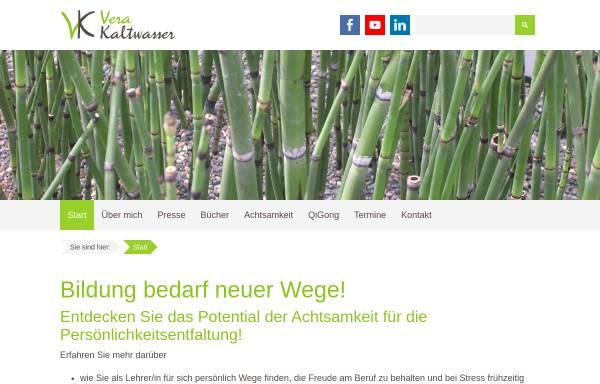 Vorschau von vera-kaltwasser.de, Vera Kaltwasser