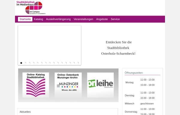 Vorschau von www.bibliothek-ohz.de, Kreis- und Stadtbibliothek Osterholz-Scharmbeck
